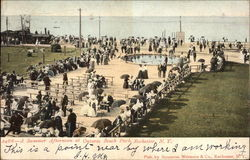 Summer Afternoon at Ontario Beach Park Postcard
