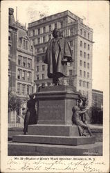 No. 55--Statue of Henry Ward Beecher