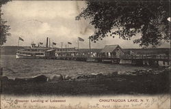 Steamer Landing at Lakewood