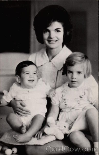 Jackie Kennedy with Children Political
