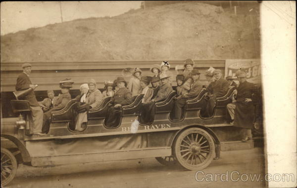 People Aboard a Viewing Car Mexico