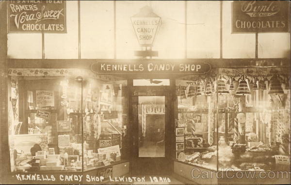 Kennells Candy Shop Lewiston Idaho