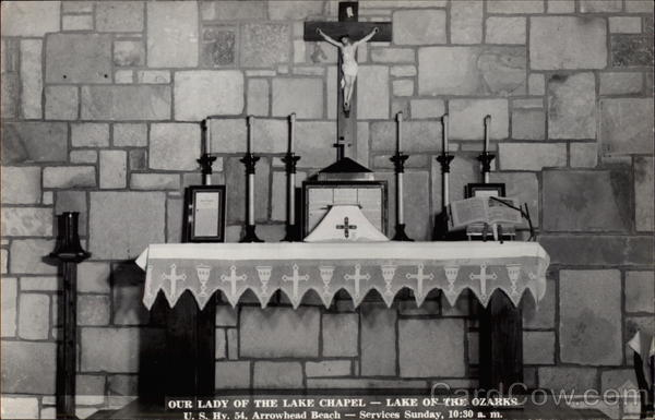 Our Lady of the Lake Chapel Lake of the Ozarks Missouri