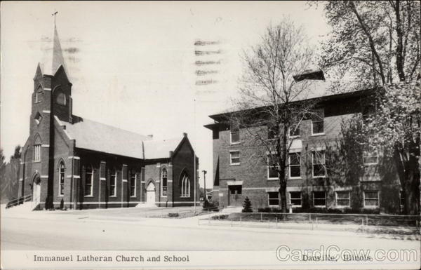 Immanuel Lutheran Church and School Danville Illinois