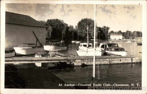At Anchor - Crescent Yacht Club Chaumont New York