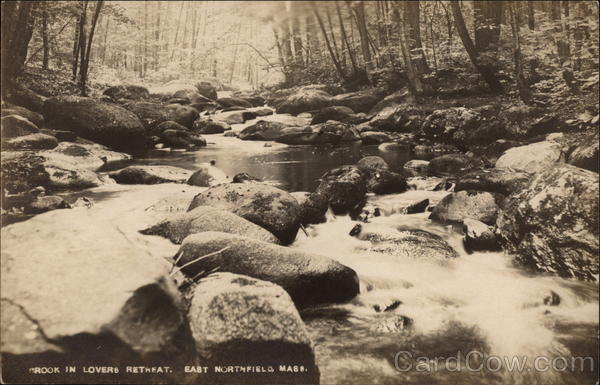 Brook in Lovers Retreat East Northfield Massachusetts