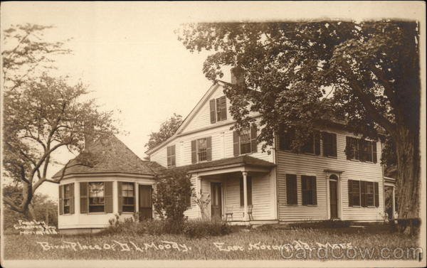 Birth Place of D. L. Moody East Northfield Massachusetts