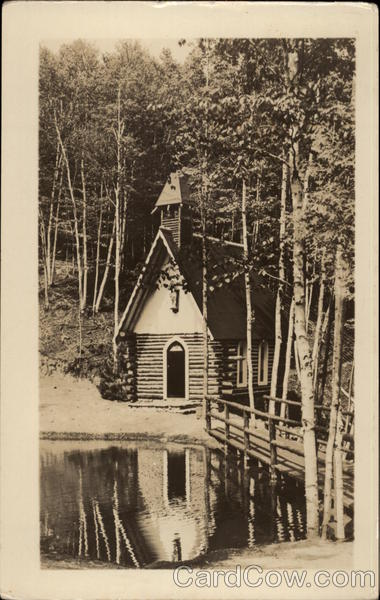 The Village Chapel at Whiteface Mountain, New York