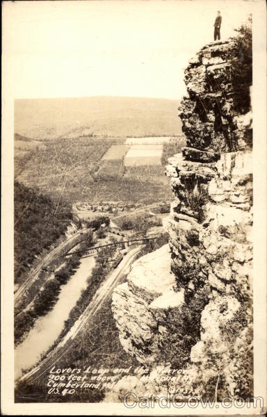 Lovers Leap Cumberland Maryland