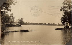 View of Lake Nipmuc