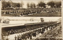 Troops Leaving Jefferson Barracks
