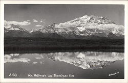 Mt. McKinley and Thorofare Pass Postcard