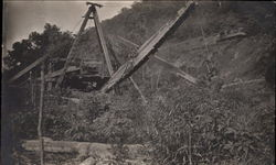 Steam Shovel at Work