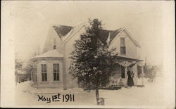 Snow at House on May 1st, 1911