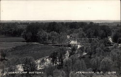 View of Vermillion Bottoms Postcard