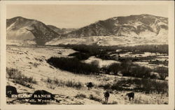 Eatons' Ranch in Wolf, Wyoming