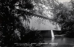 Wisconsin's Only Covered Bridge