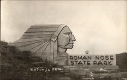 Roman Nose State Park in Oklahoma