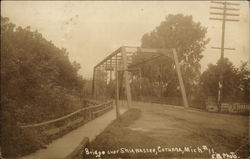 Bridge over Shiawassee River