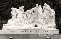 The Mystery of Life Statue, Forest Lawn Memorial Park