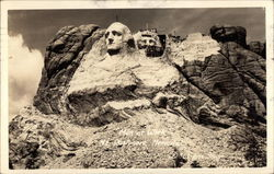 Men at Work, Mt. Rushmore Memorial