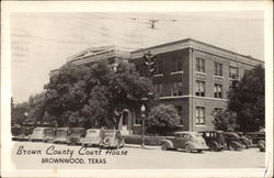 Brown County Court House Postcard