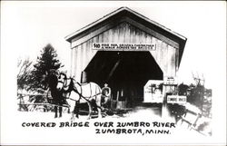 Covered Bridge Over Zumbro River