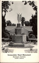 Immaculate Heart Monument, Dominguez Seminary