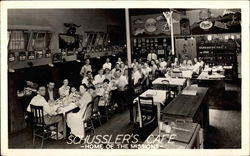 Schussler's Cafe, Home of the Missions