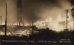 Ampersand Hotel Fire, Sept. 23, 1907