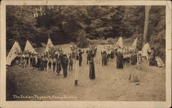 The Indian Pageant, Camp Dudley