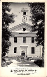 Mariposa County Court House