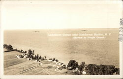 Aerial View of Lakeshore Camps