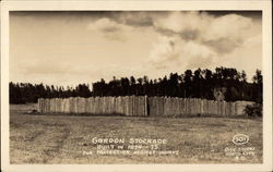 Gordon Stockade Built in 1874-75 For Protection Against Indians