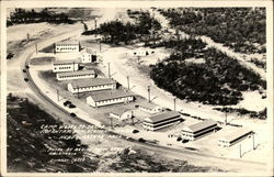 Infantry Replacement Headquarters Area, Camp Wolters Postcard