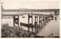 Toll Bridge over the St. Croix River