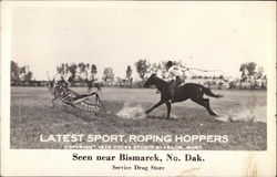 Latest Sport, Roping Hoppers