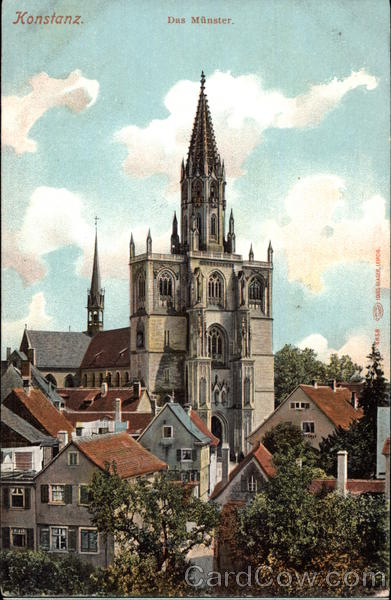 The Cathedral of Constance, Germany