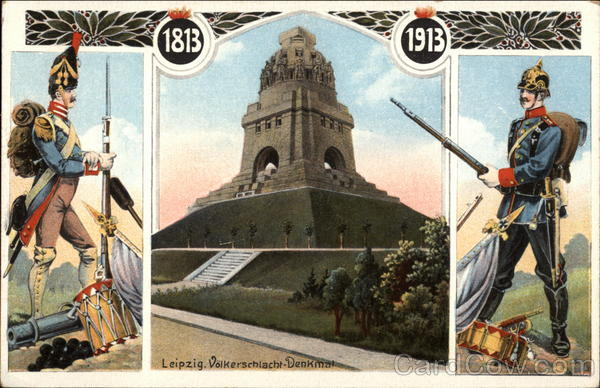 The Volkerschlacht (Battle of Nations) Monument in Leipzig Germany