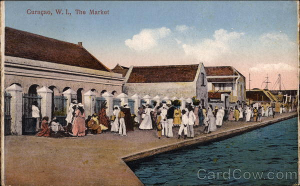 The Market Curacao Netherlands Antilles Caribbean Islands