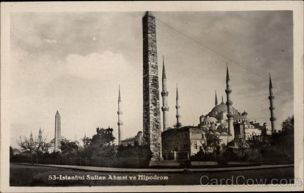 Sultanahmet Square and Hippodrome in Istanbul Turkey