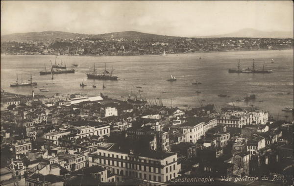 General View of the Port Istanbul Turkey Greece, Turkey, Balkan States