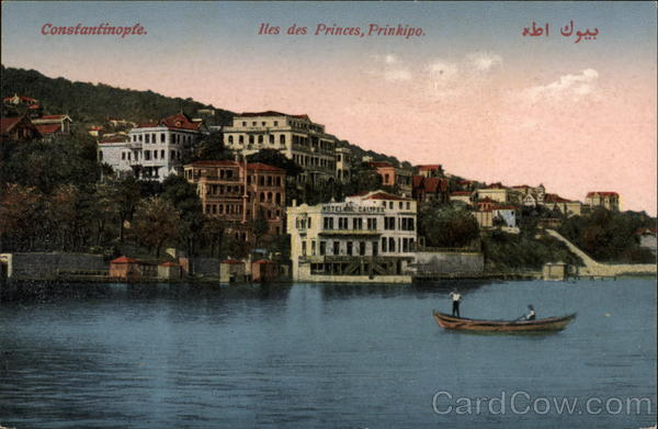 Iles des Princes, Prinkipo Istanbul Turkey Greece, Turkey, Balkan States