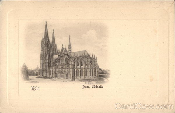 Dom, Sudseite - Cathedral, South Side Cologne Germany