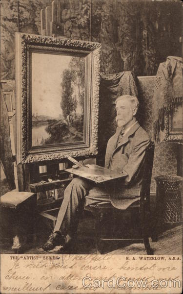 Photograph of E. A. Waterlow A.R.A Art