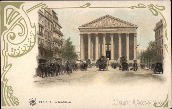 La Madeleine Paris France