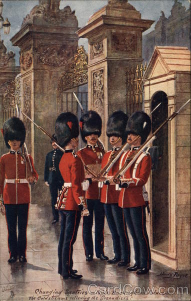 The Coldstream Guards London England
