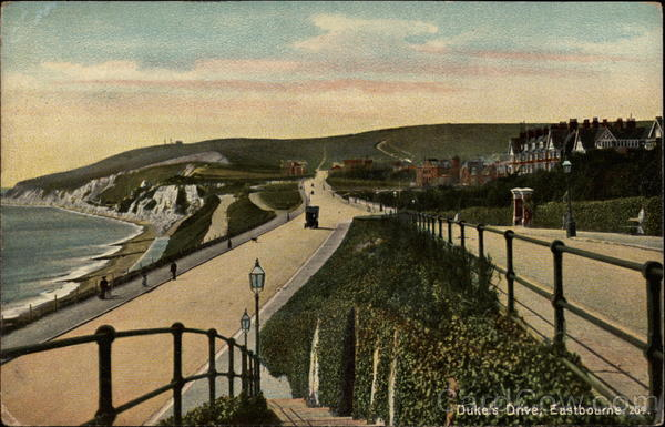 Duke's Drive Eastbourne England Sussex