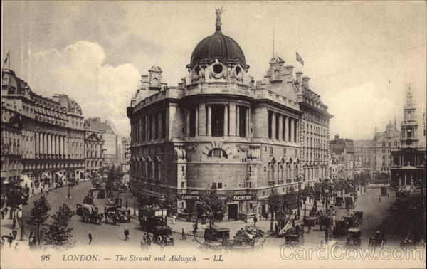 The Strand and Aldwych London England
