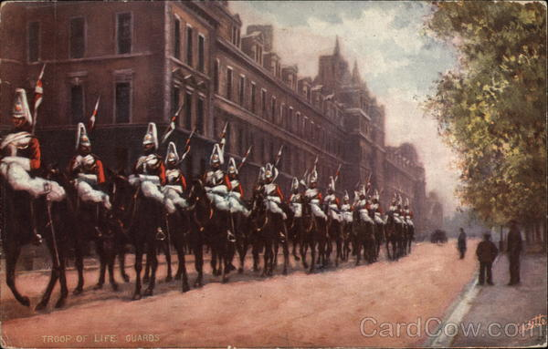 Troop of Life Guards London England